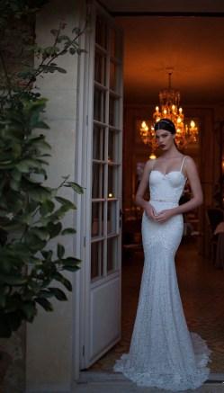 Dainty Size Art Deco Wedding Dress Pattern Vintage Inspired Wedding Gown Berta Daring Art Deco Wedding Gowns Berta Deco Weddings Art Deco Wedding Dress