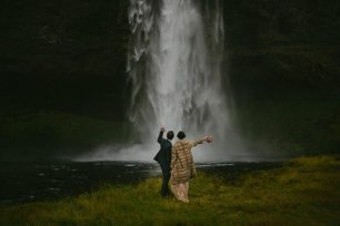 Waterfall Wedding Iceland