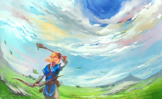 Link-fanart-zelda-wii-u-E3-18