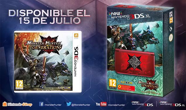 Monster Hunter Generations New 3DS