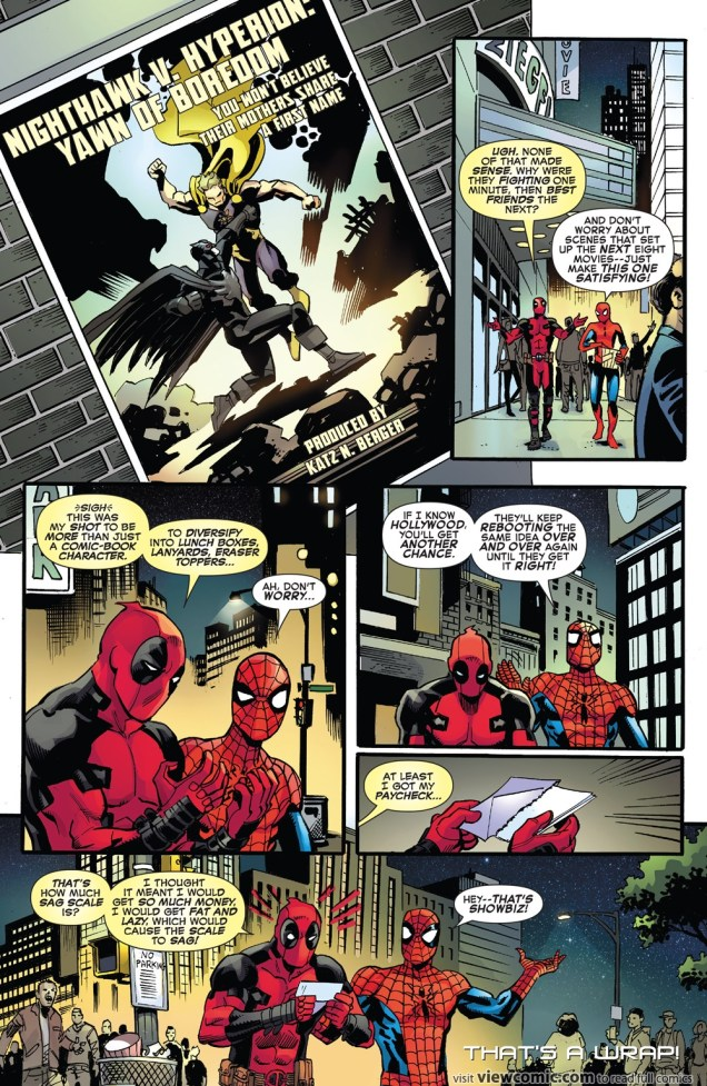 Spiderman Deadpool #6 2