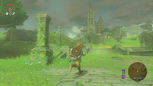 The Legend of Zelda Breath of the Wild gameplay 08