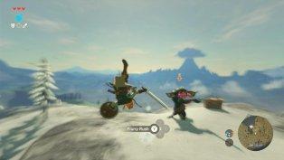 The Legend of Zelda Breath of the Wild gameplay 10