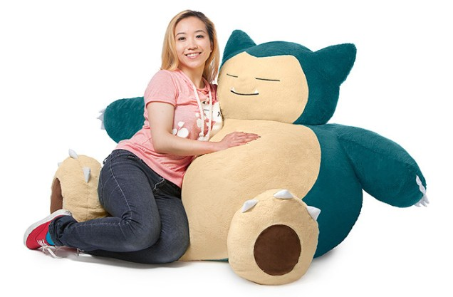 Peluche gigante de Snorlax - Pokémon