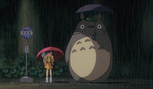 totoro-lluvia