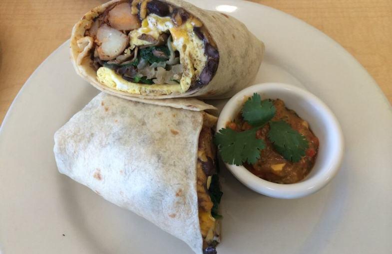 Rise and Shine Cafe Burrito