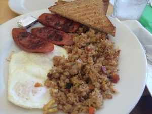 Local Style Breakfast Plate