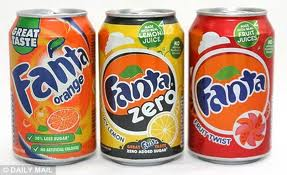 Which Is Worse: Sugar Or Aspartame?, fruit drink, Fanta products, pop, warning, sodas, zero, aspartame,