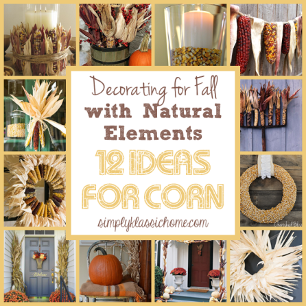 Natural elements for fabulous fall decor - Fall natural decor ideas rich colors ...