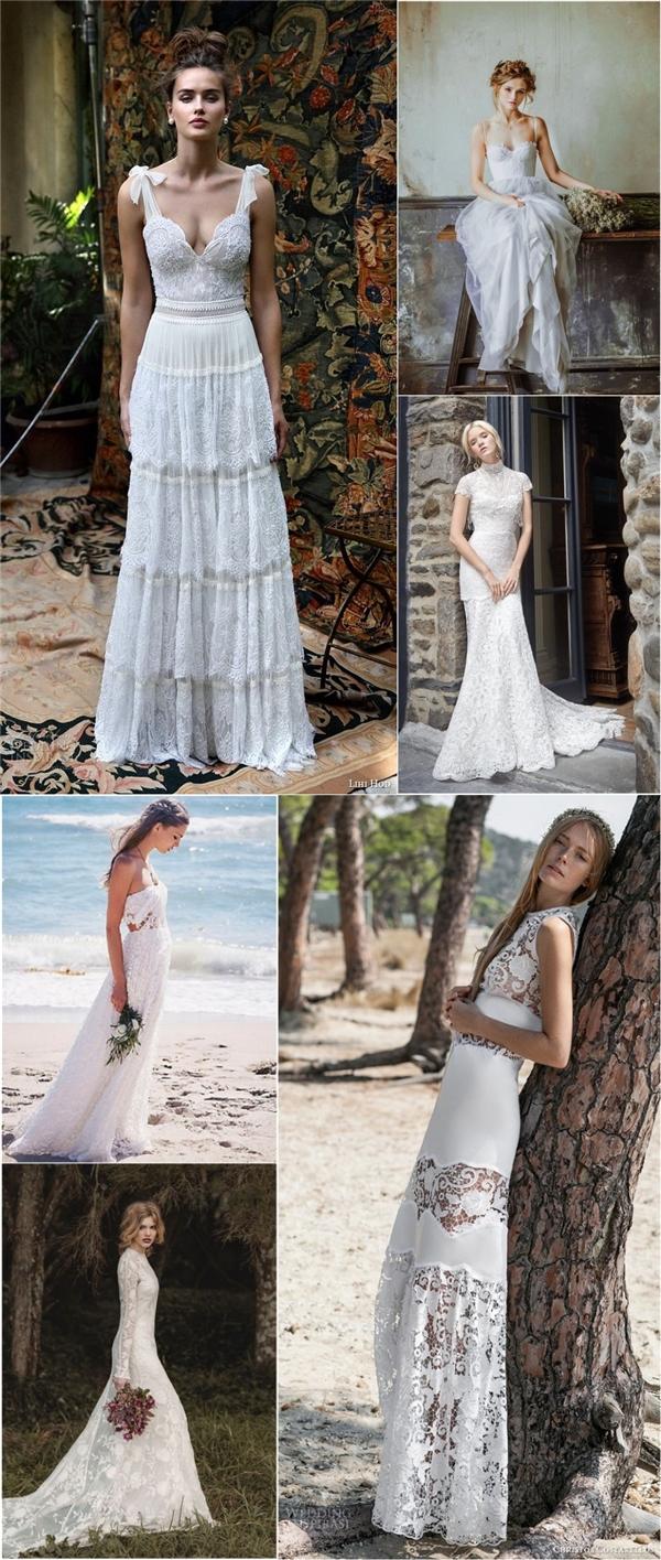 beautiful bohemian wedding dresses vintage boho wedding dress Vintage bohemian wedding dresses boho bridal gowns