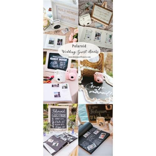 Medium Crop Of Polaroid Guest Book