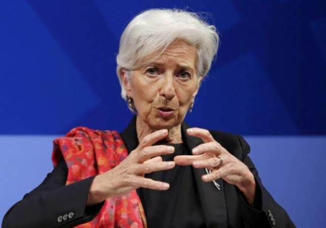 IMF's Lagarde says restructuring Greece's debt essential