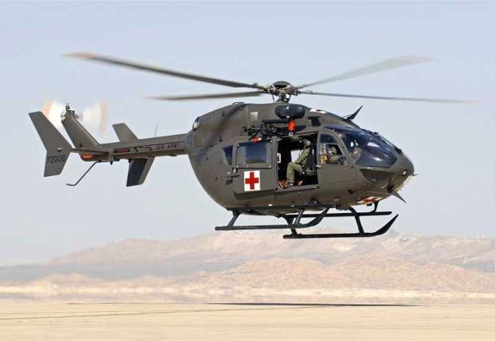 One of the first U.S. Army UH-72A Lakotas. U.S. Army courtesy photo