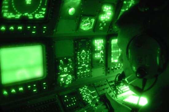 AC-130U Sensor operator