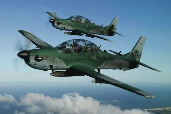 Embraer's Super Tucano is already being tested in Afghanistan under the Imminent Fury program, but some U.S. lawmakers have already begun to fight any further procurement of the Brazilian-made aircraft. Photo courtesy of Embraer.