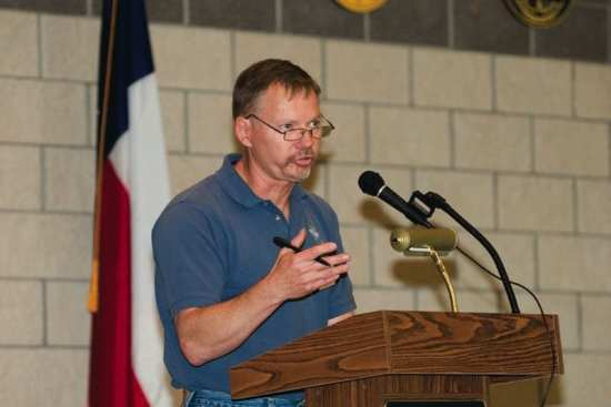 Stan Supinski, Director, Partnership Program, Naval Postgraduate School/Center for Homeland Defense and Security.  Photo Courtesy: Jean Wulfson, Texas A&M University.