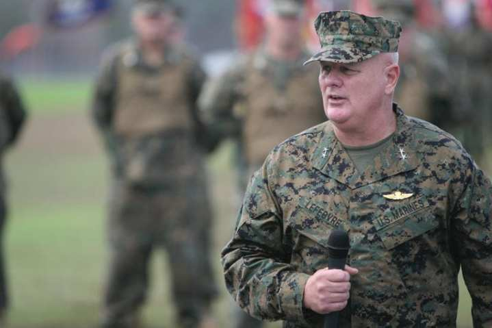 Maj. Gen. Paul E. Lefebvre, commanding general, Marine Corps Forces Special Operations Command. Photo courtesy of MARSOC.