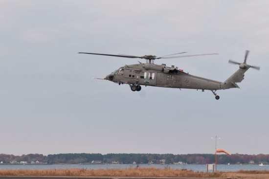 Alternative fuels MH-60S