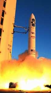 FalconSAT-5 launches into orbit Nov. 19, 2010.