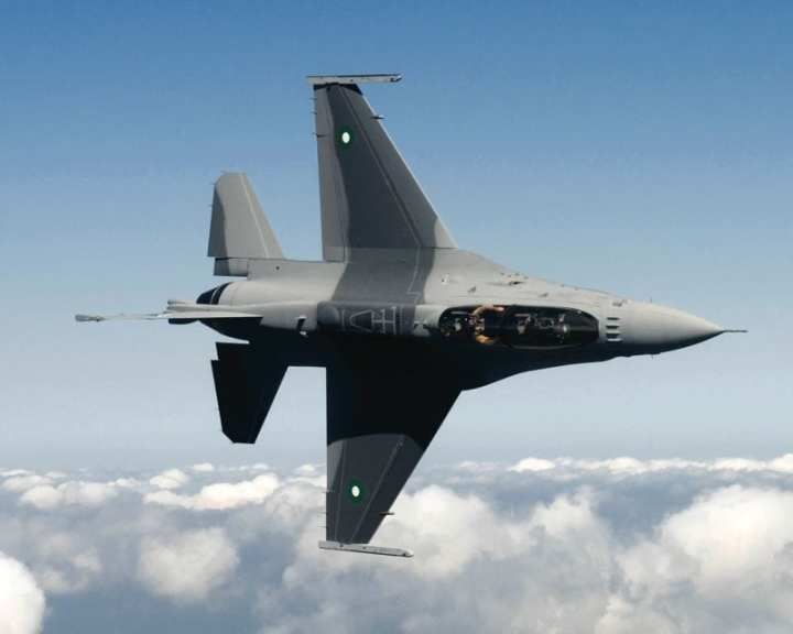 Pakistani air force F-16 Block 52