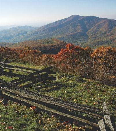 Blue Ridge Mountains. iStock image