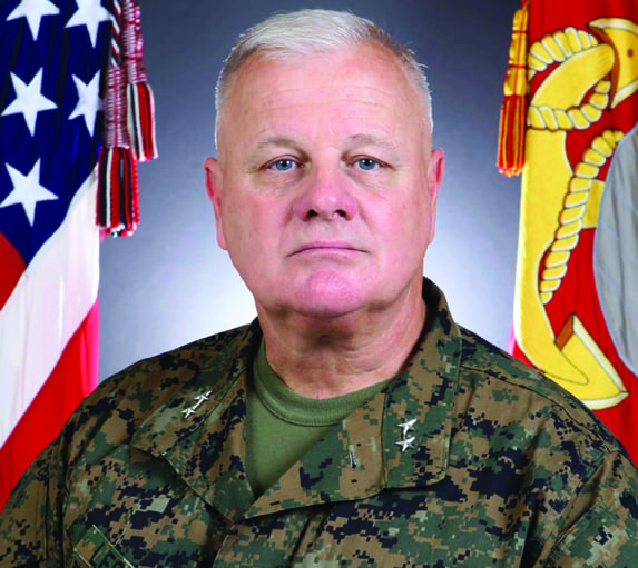 Maj. Gen. Lefebvre. U.S. Marine Corps photo