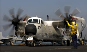C-2A Carl Vinson U.S. 5th Fleet AOR