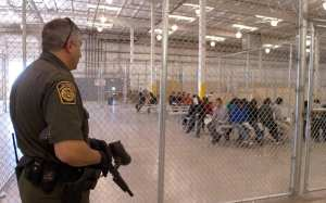 Illegal immigrant holding facility