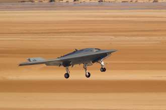 Northrop Grumman X-47B UCAS second flight