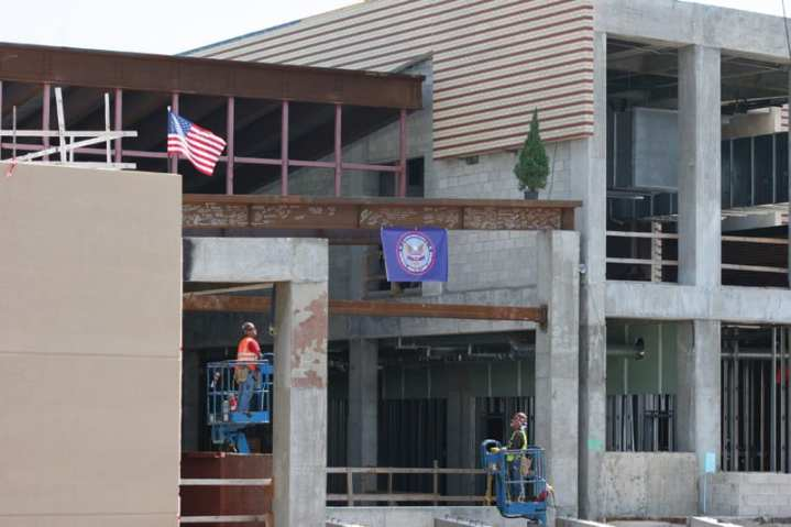 VA construction of the Captain James A. Lovell Federal Health Care Center using ARRA funds