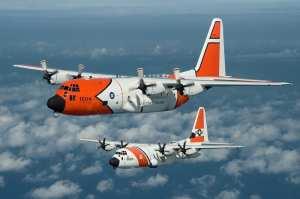 C-130-H HC-130J  coast guard