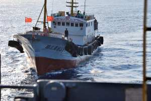 Chinese vessels harass USNS Impeccable