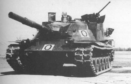MBT-70 American Version Front