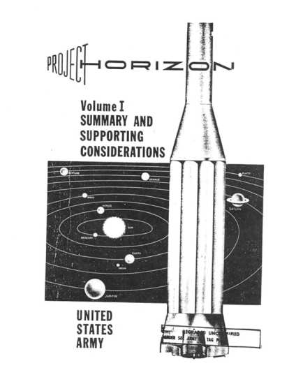 Project Horizon proposal cover