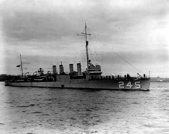 USS Reuben James (DD 245))