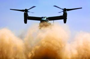 MV-22 Osprey In Afghanistan
