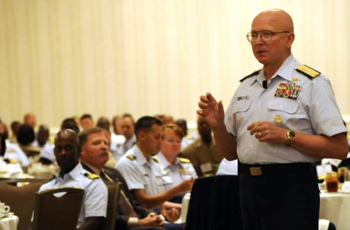 Papp at National Naval Officers Assoc conference
