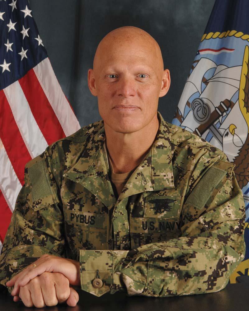 Rear Adm. Sean A. Pybus, NAVSPECWARCOM Commander