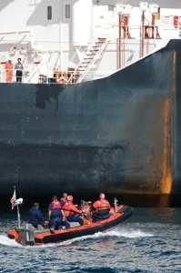 U.S. Coast Guard Security Boarding