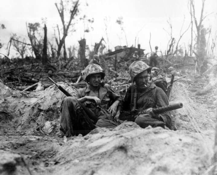 U.S. Marines on Peleliu