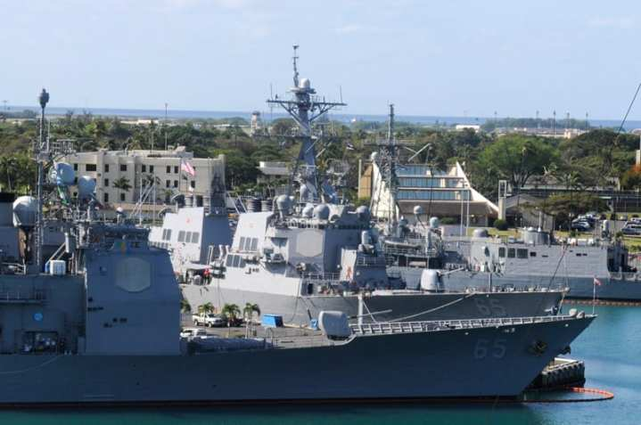 CG 65 and DDG 65