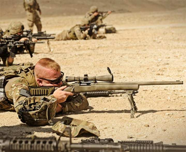 M24 sniper rifle barrel