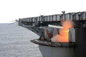 Rolling Airframe Missile (RAM) Launch