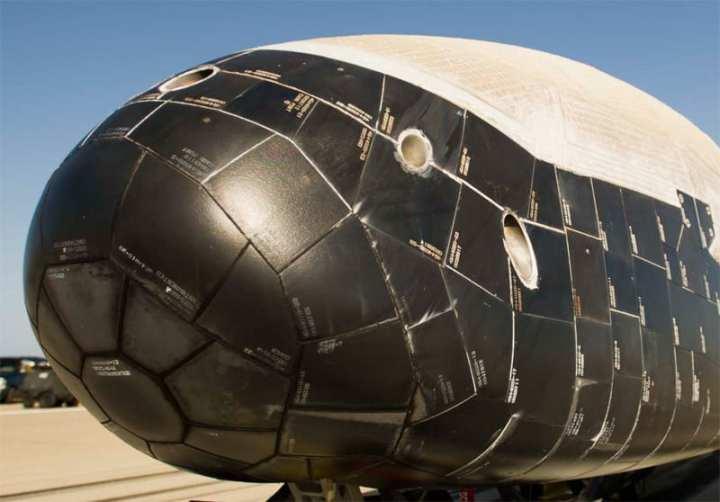 X-37B nose