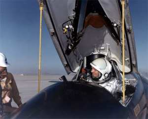 Armstrong in X-15