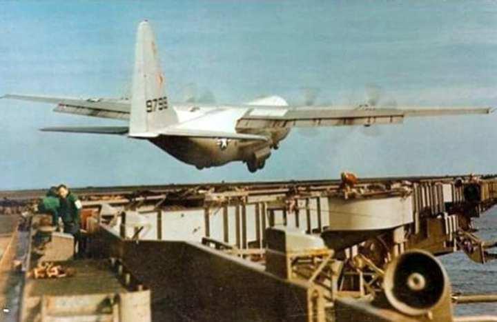 KC-130 Aircraft Carrier Test
