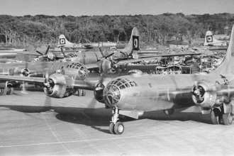 B-29s 29th BG North Field Tinian