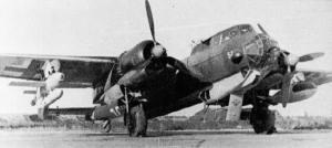 Do-217K with Hs-293
