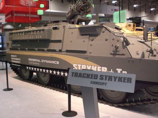 Tracked Stryker 2 SG