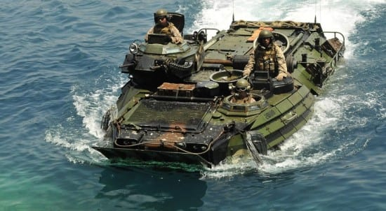Spanish Amphibious Landing Exercise 2011